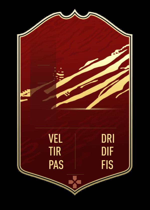 FUT 21 FUT Champions card gigante personalizzabile