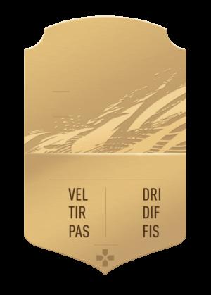 FUT 21 bronze card gigante personalizzabile