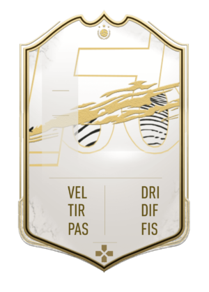FUT 21 Icon card gigante personalizzabile