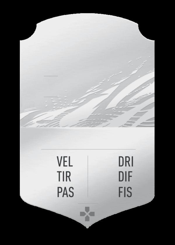 FUT 21 silver card gigante personalizzabile