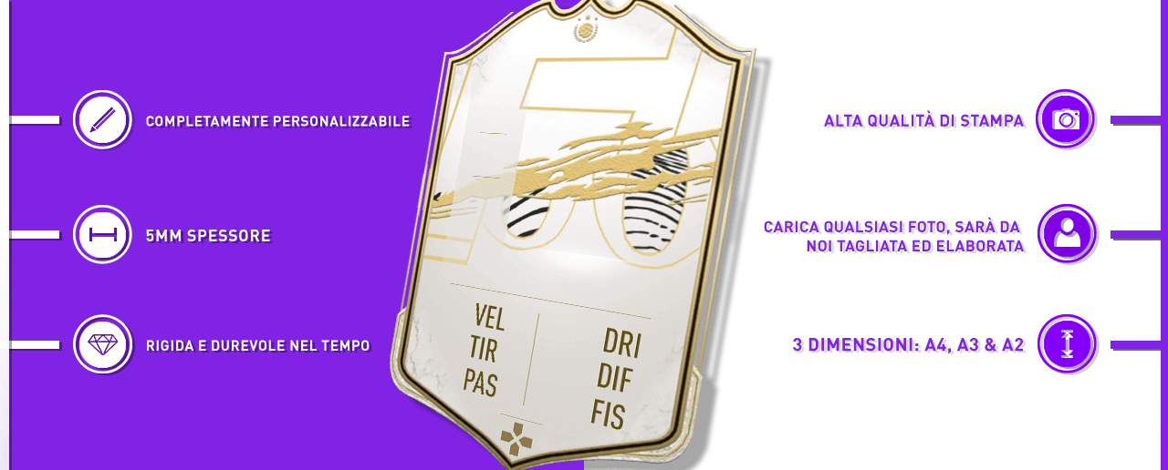 FUT Icon card gigante - CardsPlus.it