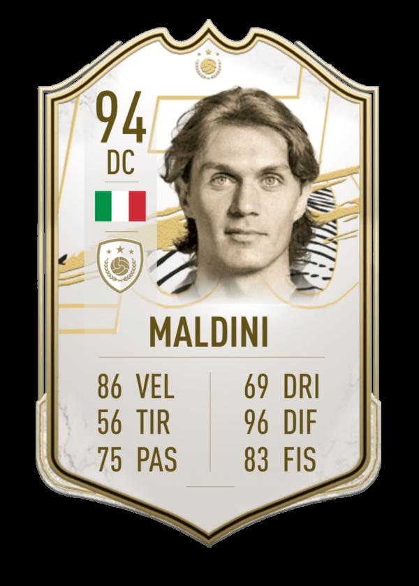 Maldini FUT 21 Icon Prime
