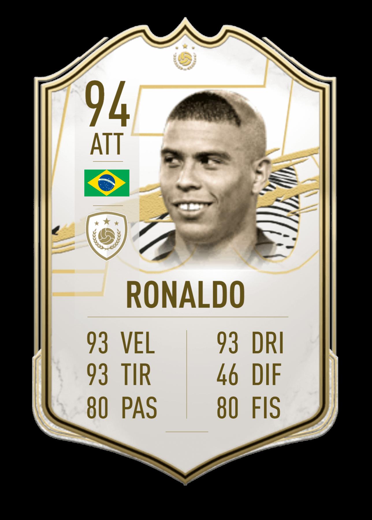FIFA 21 Ultimate Team Icon card gigante personalizzata ...