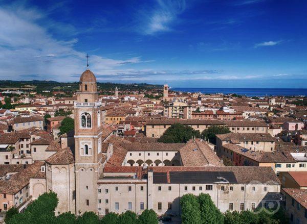 Centro storico di Fano dall'alto - Massimo Radi