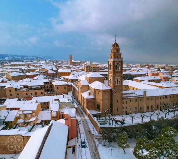 Centro storico di Fano sotto la neve - Massimo Radi