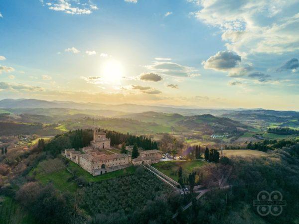 Monte Giove fotografato dall'alto con un drone - Massimo Radi