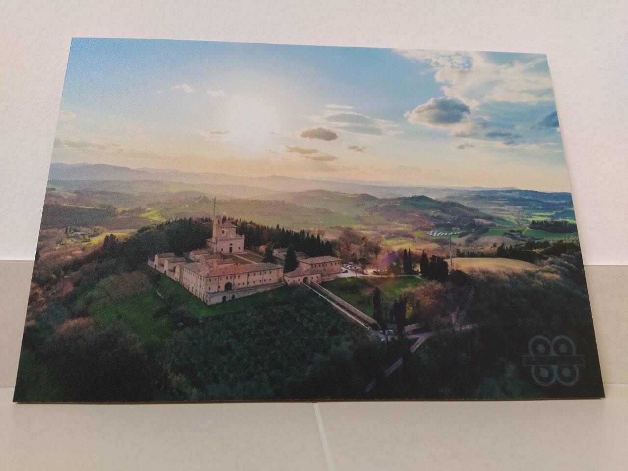 Stampa su forex del panorama di Monte Giove a Fano - quadro