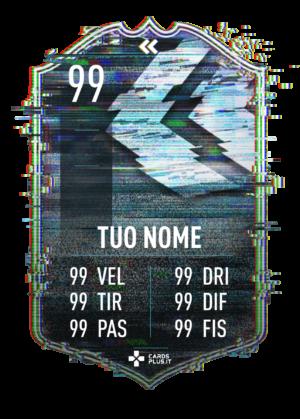 FIFA 21 Flashback card gigante personalizzabile