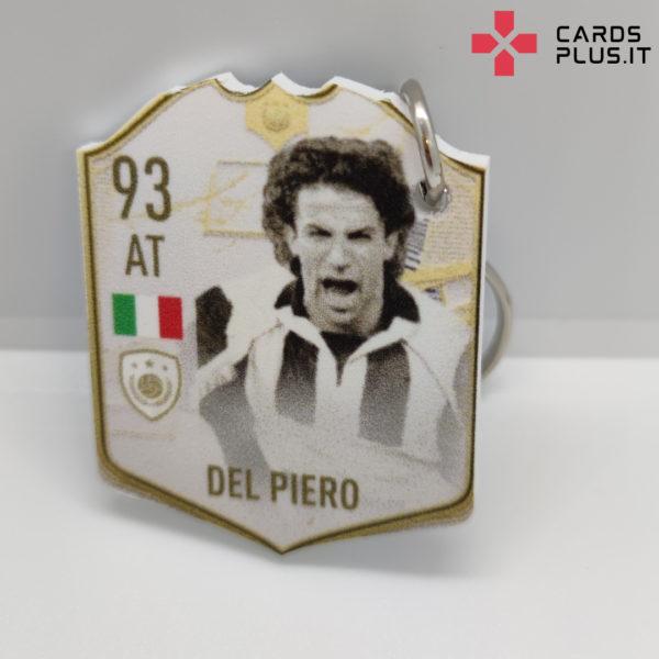 Portachiavi FUT Del Piero Icon Moments personalizzato