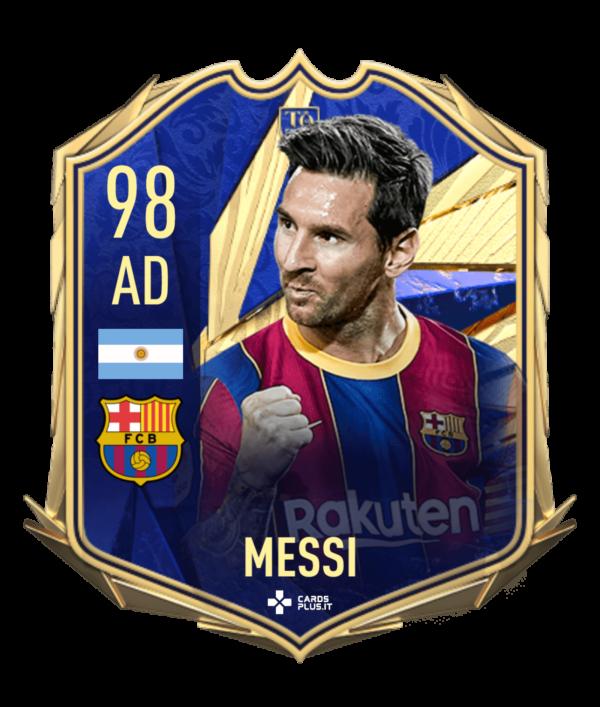 Portachiavi Lionel Messi TOTY FUT 21