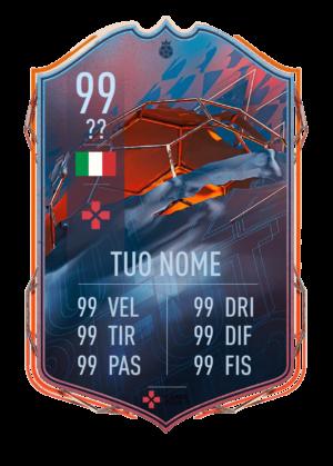 FIFA 22: FUT Heroes card gigante personalizzabile