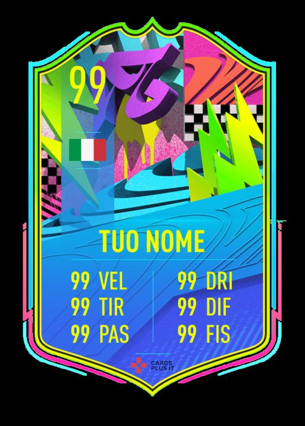 FIFA 21 Summer Stars ufficiale card gigante personalizzabile