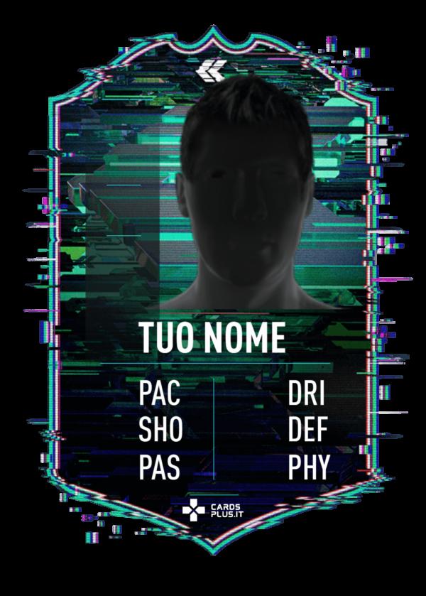 FIFA 22 Flashback card gigante personalizzabile